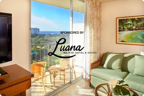 Sponsored by Luana Waikiki Hotels & Suites